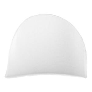 SHOULDER PADS LARGE 2 pc WHITE