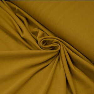 ORGANIC JERSEY BASIC OLIVE GOLD