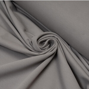 ORGANIC FRENCH TERRY BASIC DOVE GRAY