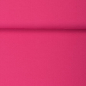 ORGANIC FRENCH TERRY BASIC HOT PINK