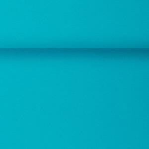 ORGANIC RIB 1X1 AQUA BLUE