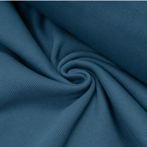 ORGANIC RIB 2X2 STEEL BLUE