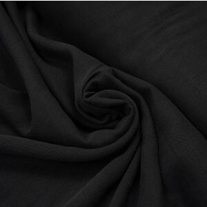 TENCEL SMOOTH DRAPE TWILL BLACK