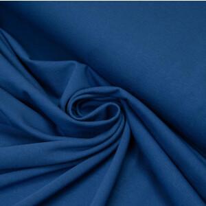 ORGANIC JERSEY BASIC COBALT BLUE