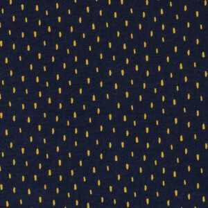ORGANIC FRENCH TERRY BRUSHED SCRATCH NAVY
