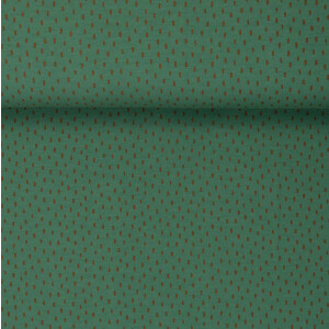 ORGANIC FRENCH TERRY BRUSHED SCRATCH DARK MINT