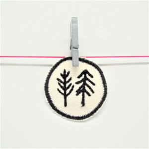 EMBROIDERED PATCH TREES