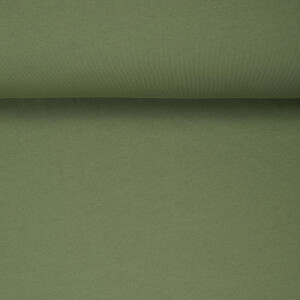 ORGANIC SWEAT BRUSHED OLIVE GREEN