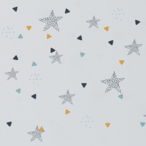 JERSEY STARS AND TRIANGLE WHITE
