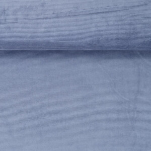 KNIT CORDUROY COUNTRY BLUE