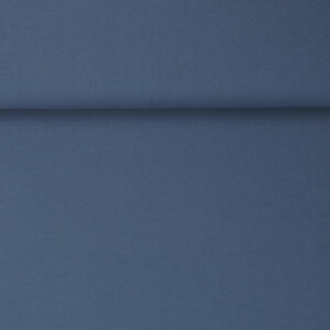 ORGANIC RIB JERSEY BLUE INDIGO