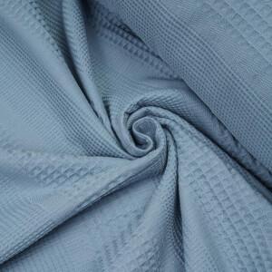 WAFFLE MIXED STRIPES BLUE