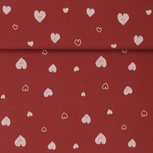 RUSTIC COTTON HEARTS CAYENNE
