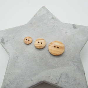 OLIVE WOOD BUTTON NATURE