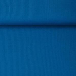 ORGANIC 2X2 RIBBING INTENSE BLUE