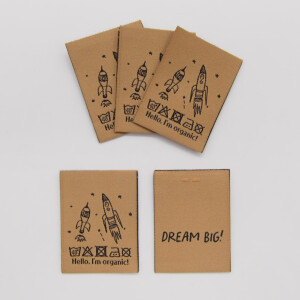 WOVEN LABEL ROCKETS TOFFEE (5 pcs)
