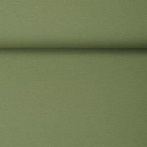 ORGANIC WOOLEN OTTOMAN OLIVE GREEN