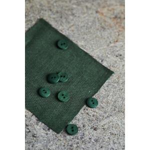 CURB COTTON BUTTON 11 mm GREEN KHAKI