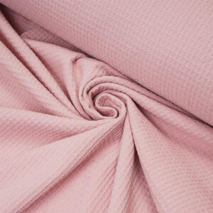 ORGANIC WAFFLE BRAIDED ROSE PETAL