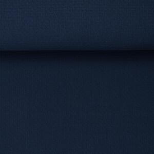ORGANIC WAFFLE BRAIDED INK BLUE