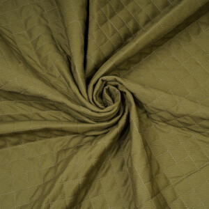 DENIM QUILTED GREEN