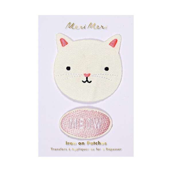 EMBROIDERED PATCHES CAT