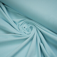 ORGANIC JERSEY BASIC CLOUD BLUE
