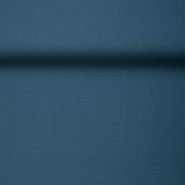 ORGANIC JERSEY BASIC STEEL BLUE