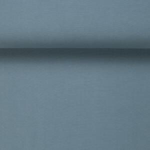 ORGANIC RIB 1X1 DUSTY BLUE