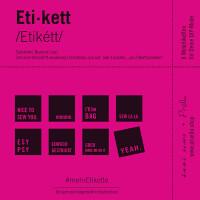 WOVEN LABEL #MEHRETIKETTE (8pc) 2. EDITION/PINK