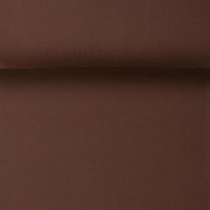 ORGANIC RIB 1X1 WALNUT BROWN