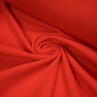 ORGANIC RIB 1X1 POPPY RED