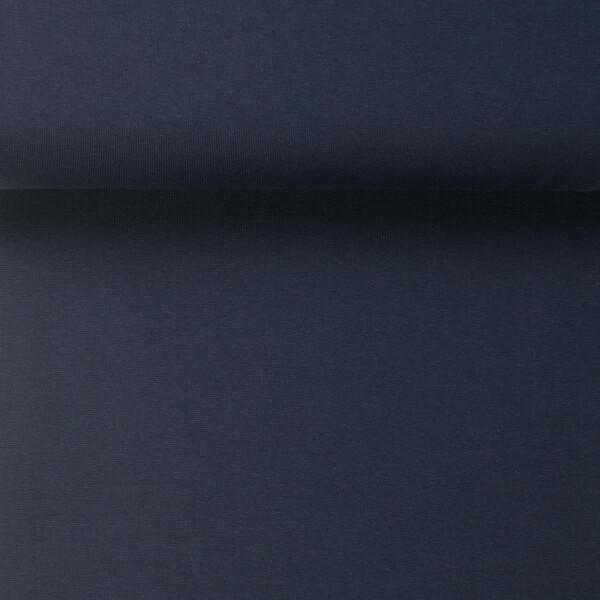 ORGANIC RIB 1X1 DENIM BLUE