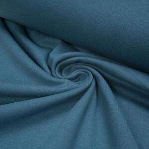 ORGANIC RIB 1X1 STEEL BLUE