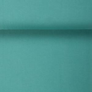 ORGANIC RIB 1X1 LAGOON GREEN