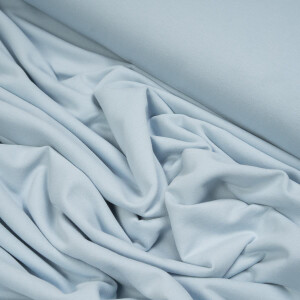 ORGANIC FRENCH TERRY BRUSHED ICE BLUE