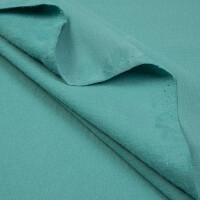 ORGANIC FRENCH TERRY BRUSHED LAGOON GREEN