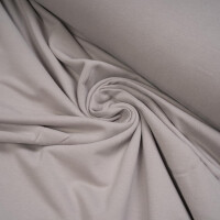 ORGANIC FRENCH TERRY BRUSHED DOVE GRAY