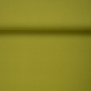 ORGANIC FRENCH TERRY BRUSHED GECKO GREEN