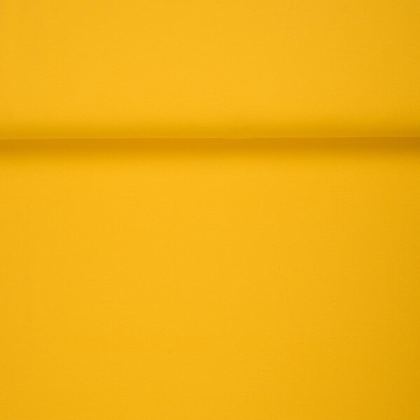 ORGANIC FRENCH TERRY BRUSHED SUMMER YELLOW