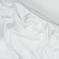 ORGANIC FRENCH TERRY BRUSHED OPTICAL WHITE
