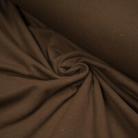 SWEAT BASIC BRUSHED COLORS BROWN