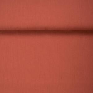 ORGANIC DOUBLE GAUZE BASIC GINGER RED
