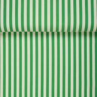 ORGANIC JERSEY VERTICAL CLOVER GREEN