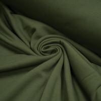 ORGANIC SWEAT BRUSHED GREEN KHAKI