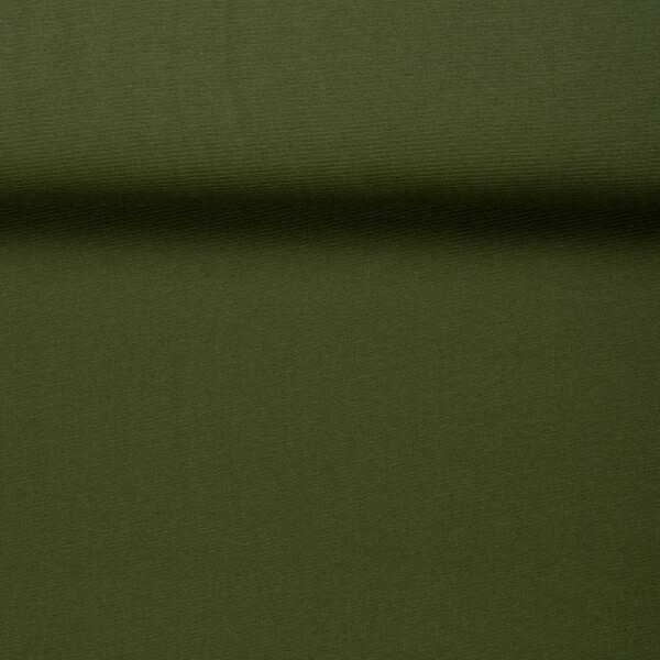ORGANIC WOOLEN OTTOMAN GREEN KHAKI